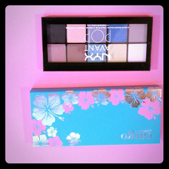 Cargo Other - 2 new eye shadow pallets with bold colors